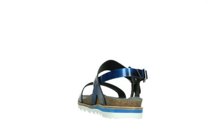 wolky sandalen 08225 minori 30865 blue leather_18