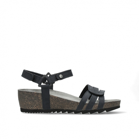 wolky sandalen 08235 pacific 10800 blue oiled nubuck
