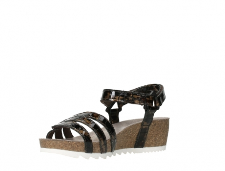 wolky sandalen 08235 pacific 69320 bronze croco polished leather_10