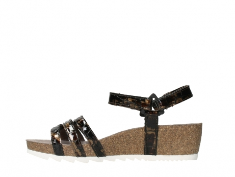 wolky sandalen 08235 pacific 69320 bronze croco polished leather_13