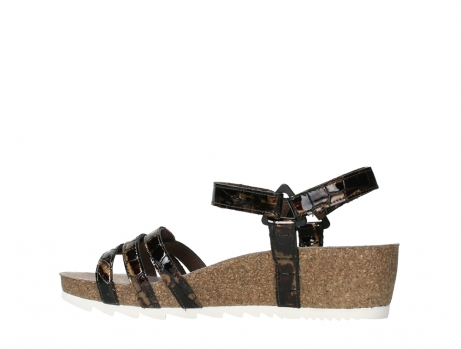 wolky sandalen 08235 pacific 69320 bronze croco polished leather_14