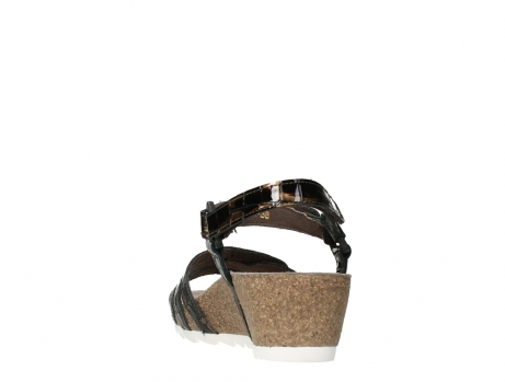 wolky sandalen 08235 pacific 69320 bronze croco polished leather_18