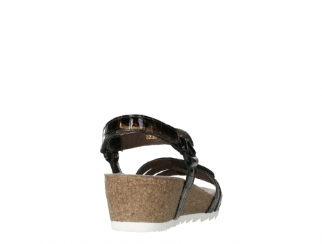 wolky sandalen 08235 pacific 69320 bronze croco polished leather_20