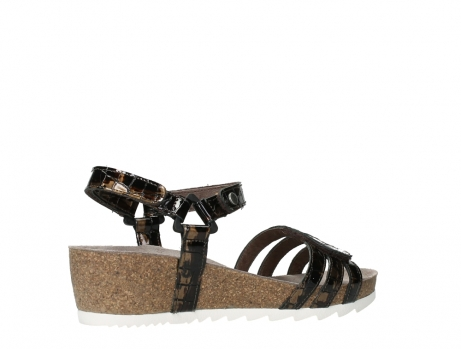 wolky sandalen 08235 pacific 69320 bronze croco polished leather_23