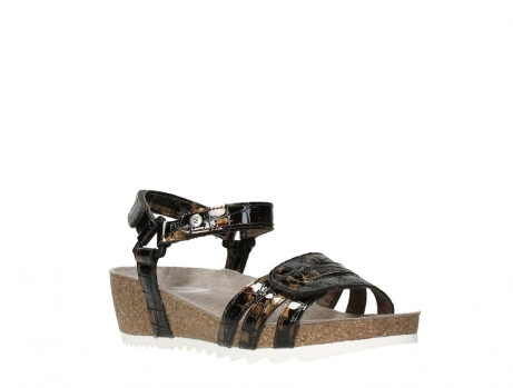 wolky sandalen 08235 pacific 69320 bronze croco polished leather_4