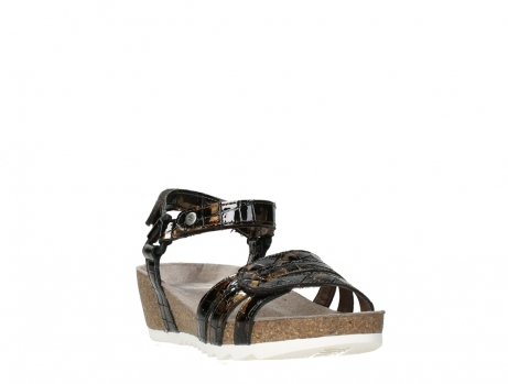 wolky sandalen 08235 pacific 69320 bronze croco polished leather_5