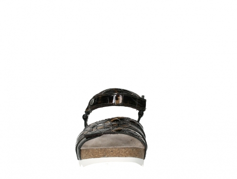 wolky sandalen 08235 pacific 69320 bronze croco polished leather_7