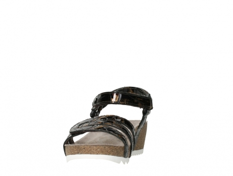 wolky sandalen 08235 pacific 69320 bronze croco polished leather_8