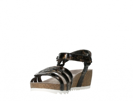 wolky sandalen 08235 pacific 69320 bronze croco polished leather_9