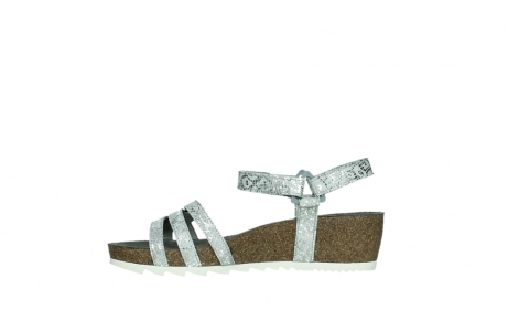 wolky sandalen 08235 pacific 99130 silver snake print leather_13