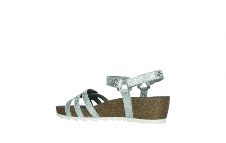 wolky sandalen 08235 pacific 99130 silver snake print leather_15