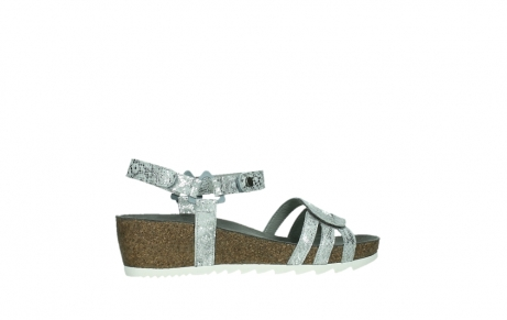 wolky sandalen 08235 pacific 99130 silver snake print leather_24