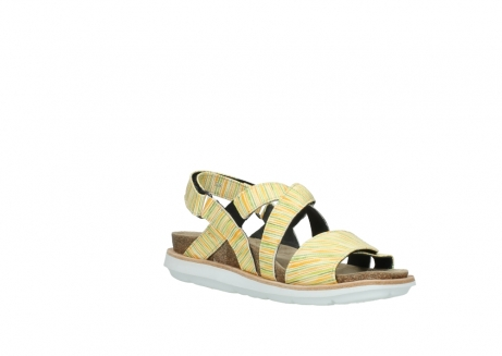 wolky sandalen 08480 sunstone 94907 yellow green leather_16