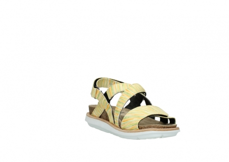 wolky sandalen 08480 sunstone 94907 yellow green leather_17