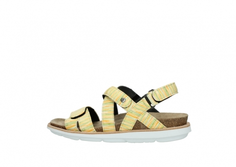 wolky sandalen 08480 sunstone 94907 yellow green leather_2