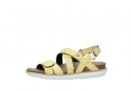 wolky sandalen 08480 sunstone 94907 yellow green leather_24