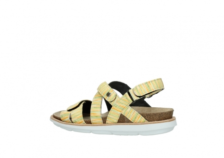 wolky sandalen 08480 sunstone 94907 yellow green leather_3