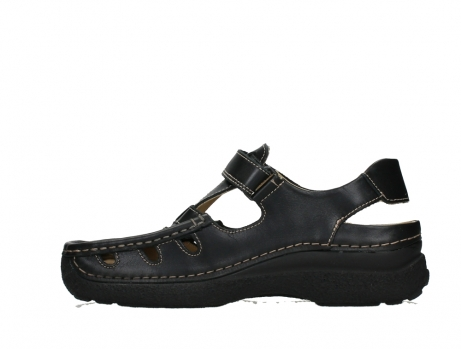 wolky heren sandalen 09209 roll sandal men 50000 black leather_13