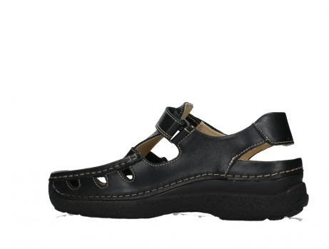 wolky heren sandalen 09209 roll sandal men 50000 black leather_14