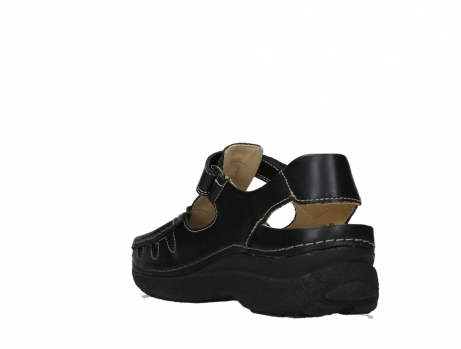 wolky heren sandalen 09209 roll sandal men 50000 black leather_17