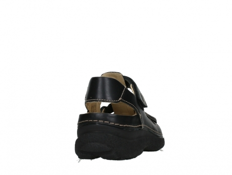 wolky heren sandalen 09209 roll sandal men 50000 black leather_20
