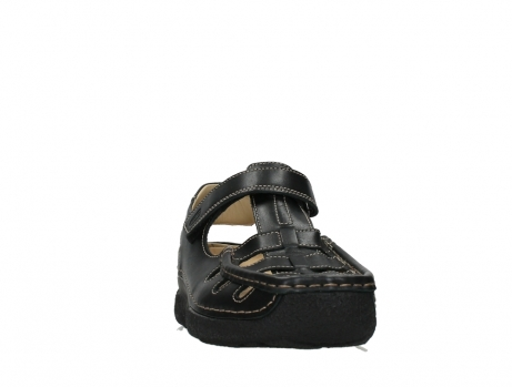 wolky heren sandalen 09209 roll sandal men 50000 black leather_6