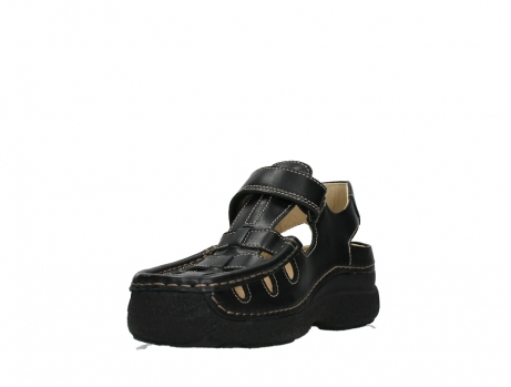 wolky heren sandalen 09209 roll sandal men 50000 black leather_9