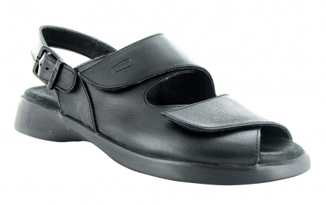wolky sandals u 00617 nimes 30000 black leather