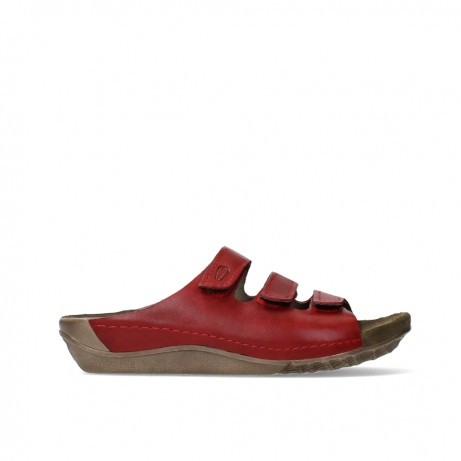 wolky slippers 00532 nomad xw 50500 red oiled leather