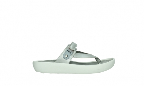 wolky slippers 00821 peace 87130 silver grey pearl leather_1