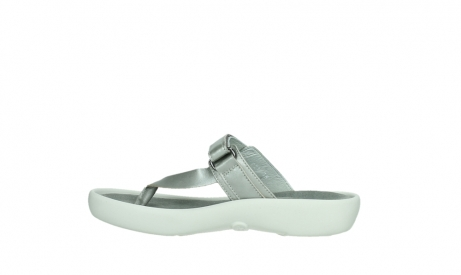 wolky slippers 00821 peace 87130 silver grey pearl leather_14