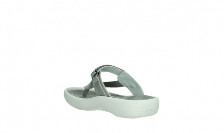 wolky slippers 00821 peace 87130 silver grey pearl leather_17