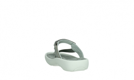wolky slippers 00821 peace 87130 silver grey pearl leather_18