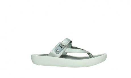 wolky slippers 00821 peace 87130 silver grey pearl leather_2
