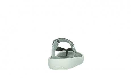 wolky slippers 00821 peace 87130 silver grey pearl leather_20