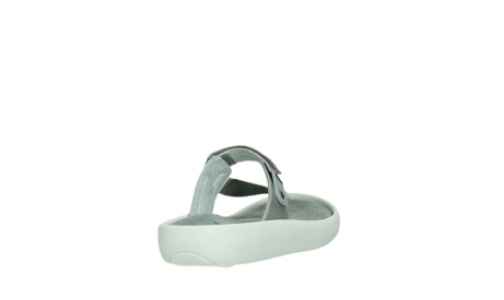 wolky slippers 00821 peace 87130 silver grey pearl leather_21