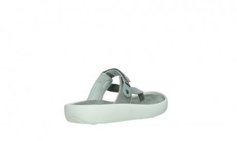 wolky slippers 00821 peace 87130 silver grey pearl leather_22