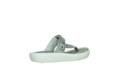 wolky slippers 00821 peace 87130 silver grey pearl leather_23