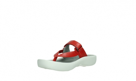 wolky slippers 00821 peace 87500 red pearl leather_10