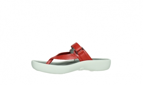 wolky slippers 00821 peace 87500 red pearl leather_12