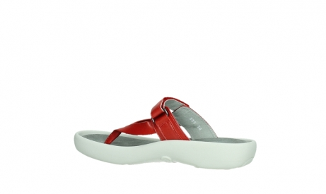 wolky slippers 00821 peace 87500 red pearl leather_15
