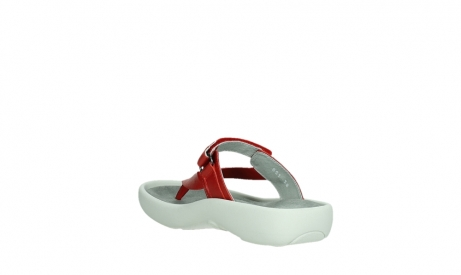 wolky slippers 00821 peace 87500 red pearl leather_17