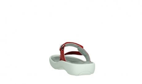 wolky slippers 00821 peace 87500 red pearl leather_18
