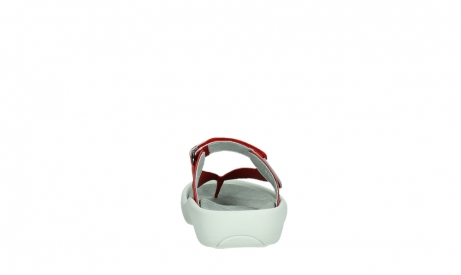 wolky slippers 00821 peace 87500 red pearl leather_19