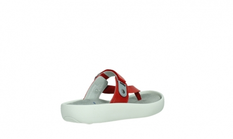 wolky slippers 00821 peace 87500 red pearl leather_22