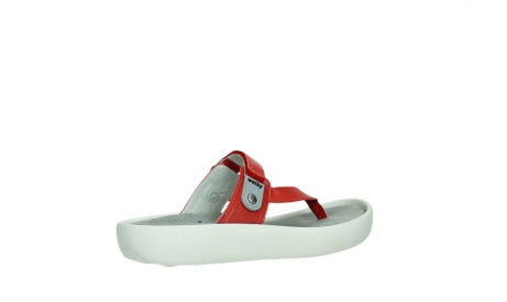 wolky slippers 00821 peace 87500 red pearl leather_23