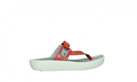 wolky slippers 00821 peace 87500 red pearl leather_24