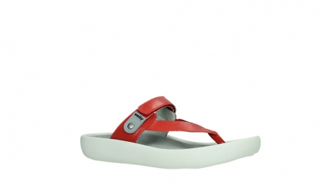 wolky slippers 00821 peace 87500 red pearl leather_3