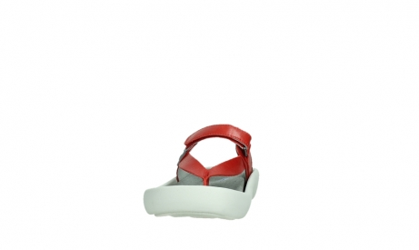 wolky slippers 00821 peace 87500 red pearl leather_8