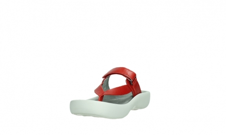 wolky slippers 00821 peace 87500 red pearl leather_9